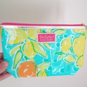 NWOT Lilly Pulitzer for Estee Lauder Makeup Pouch